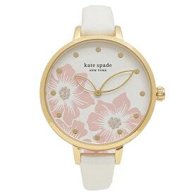 【72時間限定ポイント10倍】ケイトスペード 腕時計 レディース KATE SPADE KSW1511 ホワイト ゴールド ピンク
