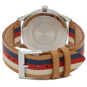 【返品OK】グッチ腕時計メンズGUCCIYA1264078ブラウンマルチ