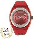 【72時間限定ポイント10倍】グッチ 腕時計 レディース メンズ GUCCI YA137103 レッド