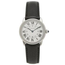 【4時間限定ポイント10倍】カルティエ 腕時計 レディース CARTIER WSRN0019 シルバー ブラック