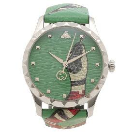 【返品OK】グッチ 腕時計 メンズ GUCCI YA1264081 グリーン