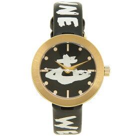 【4時間限定ポイント10倍】【返品OK】ヴィヴィアンウエストウッド 腕時計 レディース VIVIENNE WESTWOOD VV221GDBKSTD ブラック ゴールド