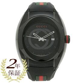 【返品OK】グッチ 腕時計 レディース メンズ GUCCI YA137107 ブラック