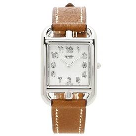 【4時間限定ポイント10倍】エルメス 腕時計 レディース HERMES 045720WW00 CC1.210.130/VB34-I ブラウン シルバー