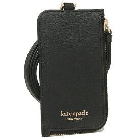 【返品OK】ケイトスペード カードケース パスケース コインケース アウトレット レディース KATE SPADE WLRU5450 001 ブラック