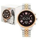 【4時間限定ポイント10倍】【返品OK】マイケルコース 腕時計 スマートウォッチ レディース MICHAEL KORS MKT5080 シル…
