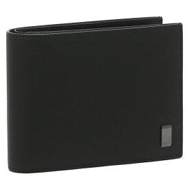 ダンヒル 財布 二つ折り財布 サイドカー ガンメタル ブラック メンズ DUNHILL 19F2F32SG001R 【返品OK】