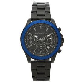 【返品OK】マイケルコース 腕時計 メンズ MICHAEL KORS MK8759 45MM ブラック ブルー