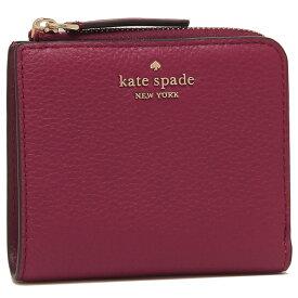 【4時間限定ポイント10倍】【返品OK】ケイトスペード 折財布 アウトレット レディース KATE SPADE WLRU5471 616 ピンクレッド