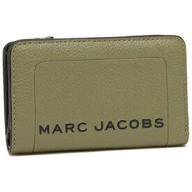 【4時間限定ポイント10倍】【返品OK】マークジェイコブス 折財布 レディース MARC JACOBS M0015105 319 カーキ