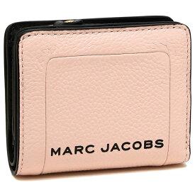 【4時間限定ポイント10倍】【返品OK】マークジェイコブス 折財布 レディース MARC JACOBS M0015107 654 ピンク