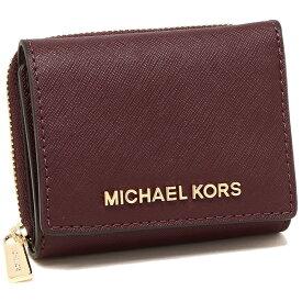 【返品OK】マイケルコース 折財布 アウトレット レディース MICHAEL KORS 35H9GTVZ5L MERLOT ボルドー