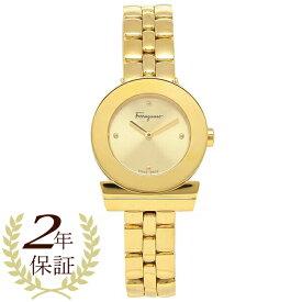 【返品OK】フェラガモ 腕時計 レディース Salvatore Ferragamo SFPD01819 27MM ゴールド