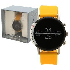 【返品OK】スカーゲン 腕時計 スマートウォッチ レディース SKAGEN SKT5115 イエロー