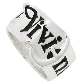 【4時間限定ポイント10倍】【返品OK】ヴィヴィアンウエストウッド リング アクセサリー VIVIENNE WESTWOOD 64040018 Q101 SR001/1 BELT RING ベルト レディース メンズ 指輪 SILVER/BLACK