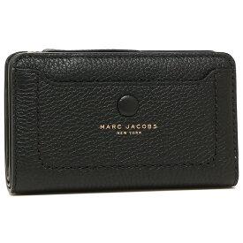 【4時間限定ポイント10倍】【返品OK】マークジェイコブス 折財布 アウトレット レディース MARC JACOBS M0013051 001 ブラック