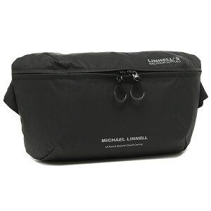 【4時間限定ポイント10倍】【返品OK】マイケルリンネル ウエストバッグ ユニセックス 7L MICHAEL LINNELL MLAC-16 ブラック A4対応