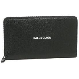 【返品OK】バレンシアガ 長財布 キャッシュ ユニセックス ブラック メンズ レディース BALENCIAGA 594317 1IZI3 1090