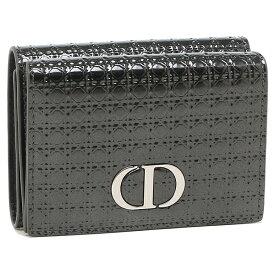 【4時間限定ポイント10倍】【返品OK】ディオール 折り財布 レディース モンターニュ Dior S2084 PSKC 76KU ブラック