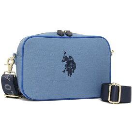 ユーエスポロ バッグ ショルダーバッグ メンズ レディース US POLO ASSN USPA-25553 ブルー 【返品OK】