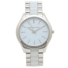 【返品OK】マイケルコース 腕時計 レディース SLIM RUNWAY ランウェイ 42MM MICHAEL KORS MK4549 ブルー シルバー