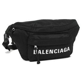 【4時間限定ポイント10倍】【返品OK】バレンシアガ ウエストバッグ メンズ ウィール BALENCIAGA 533009 H851N 1000 ブラック