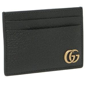 【返品OK】グッチ カードケース レディース GGマーモント マネークリップ GUCCI 436022 DJ20T 1000 ブラック