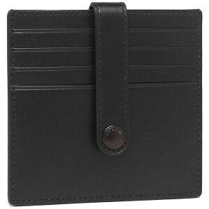 【返品OK】コーチ アウトレット カードケース ブラック メンズ COACH C3162 QBBK