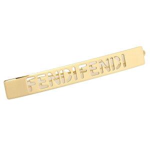 【返品OK】フェンディ ヘアクリップ アクセサリー バレッタ ゴールド レディース FENDI 8AH123 B08 F0CFK