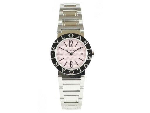 ブルガリ 時計 レディース BVLGARI 腕時計 ブルガリ ピンク BB26C2SSD/JA ウォッチ シリアル有