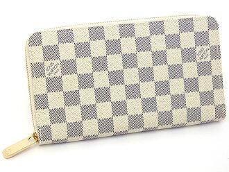 LOUIS VUITTON 루이비통 N60012 다미에아즈르집피오가나이자라운드파스나장 지갑