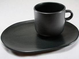 イタリア製ティーカップ&オーバルプレートセット Laboratorio Pesaro 【SAINT TROPEZ】