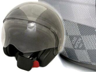 1 路易 · 威登日本收购 N80181 头盔 ダミエグラ 适合路易 · 威登 08: 罕见帽子艺术收藏 fs3gm
