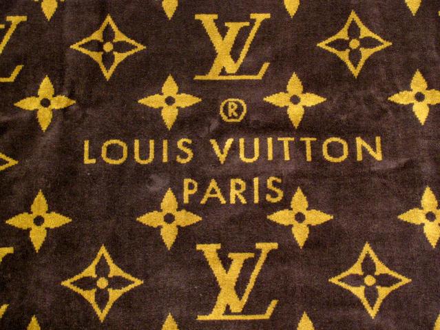 LOUIS VUITTON 大判ビーチタオル M72364 モノグラム ブラウンルイヴィトン LV ドラドゥバンモノグラムクラシック