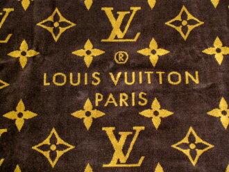 LOUIS VUITTON 대형 비치 타 올 M72364 모노 그램 브라운 루이비통 LV ドラドゥバンモノグラムクラシック fs3gm