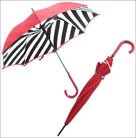 フルトン L723 023884 Bloomsbury-2 Diagonal Stripe 「Lulu Guinness」ルルギネス コラボモデル ワンタッチ ジャンプ傘 自動開き 長傘 2重構造 ブルームズバリー アンブレラ【r】【新品・未使用・正規品】