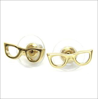 凯特铁锹凯特 · 丝蓓 WBRUA526 711 GORESKI 眼镜螺柱眼镜图案耳环