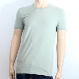 【売れ筋】DOLCE&GABBNA ドルチェ&ガッバーナ半袖Tシャツ M10555 OM525 V0555 #S ペールグリーン 首タグ【新品・未使用・正規品】