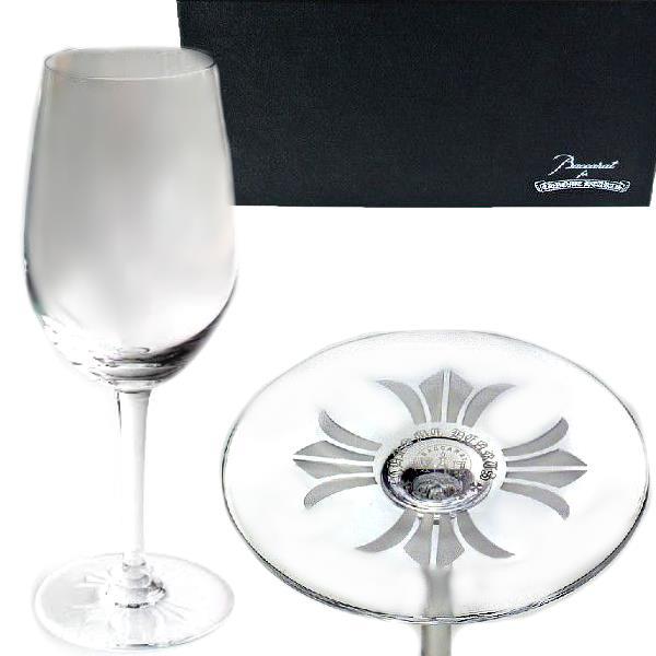 CHROME HEARTS BACCARAT クロムハーツ ×バカラ コラボ限定ワイングラス ホワイト 白ワイン WHITE WINE GLASS【新品・未使用・正規品】