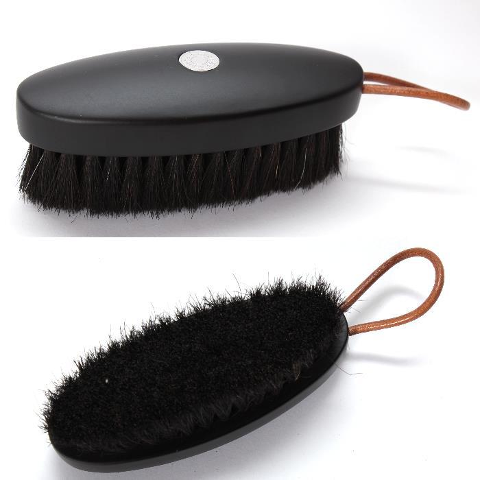 HERMES エルメスシューズケアブラシ 161428ZH01,3 ウッドブラシ馬毛 靴磨き シューズポリッシャー ポリッシュ