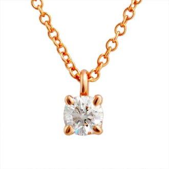 蒂芙尼TIFFANY&CO 30223942单人纸牌游戏钻石吊坠0.17ct 16in 18KRG项链