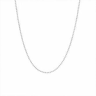 蒂芙尼 TIFFANY CO 24469662 小珠子链项链 18 在 46 厘米 SS