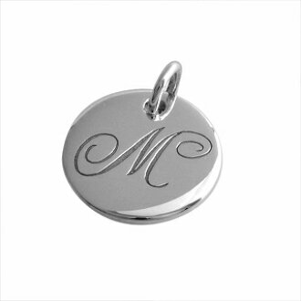 29c40ee82 CUORE: Tiffany TIFFANY&CO 25875176 notes letter alphabet initial M disk  charm (the pendant top) Small SS | Rakuten Global Market