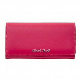 阿玛尼牛仔裤ARMANI JEANS 928541 CC864 08873 GERANIUM长钱包粉红