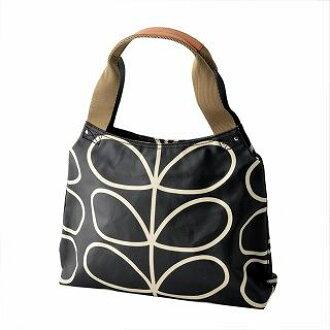 CUORE  Aura chi Lee Orla Kiely 0ETCLIN024 Liquorice shoulder bag GIANT  LINEAR STEM Classic Zip Shoulder Bag   Rakuten Global Market d405d21bca