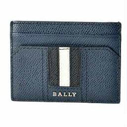巴裏BALLY THAR.LT 17 6218033巴裏條紋卡片匣名片夾