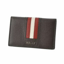 附帶巴裏BALLY TYKE.LT 21 6221815巴裏條紋路徑盒子的卡片匣名片夾