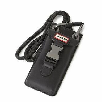 Case shoulder bag Original Rubberised Leather Phone Pouch for the hunter  HUNTER UBP1056LRS-BLK original rubber coating leather phone porch smartphone