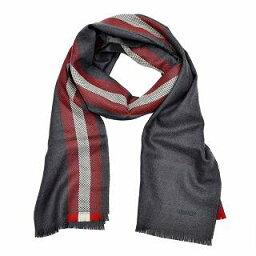 巴裏BALLY M7D028F-8S040 209 6190736巴裏條紋羊毛圍巾貨攤