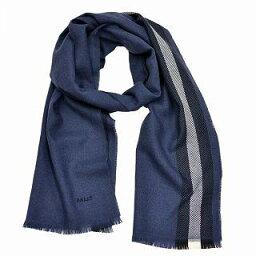 巴裏BALLY M7D028F-8S040 978 6203355巴裏條紋羊毛圍巾貨攤